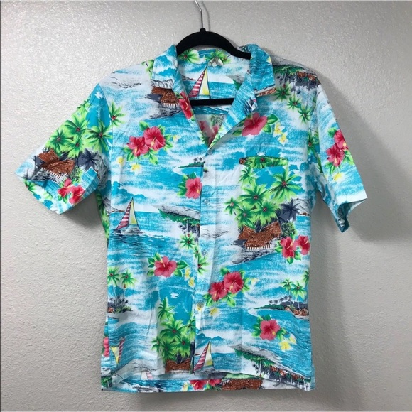 7419686d Vintage Royal Creations Hawaiian Shirt Medium. M_5b171598c9bf50a6dfe02198